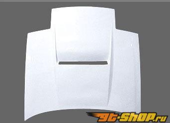 GP Sports Bonnet 02 - Карбон - Mazda RX-7 FC3S 86-92