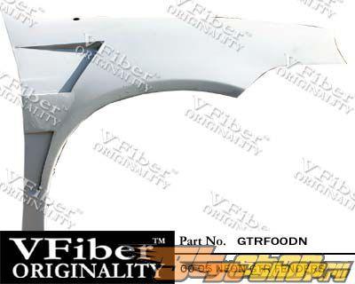Передние крылья на Dodge Neon 00-05 GTR VFiber