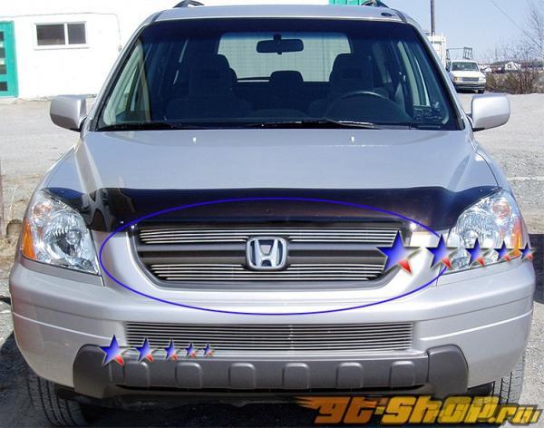 Решётка радиатора на Honda Pilot 03-05 Billet