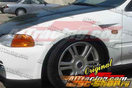 Передние крылья на Honda Civic 1992-1995 D1
