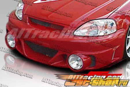 Передний бампер для Honda Civic 1996-1998 EVO2-L
