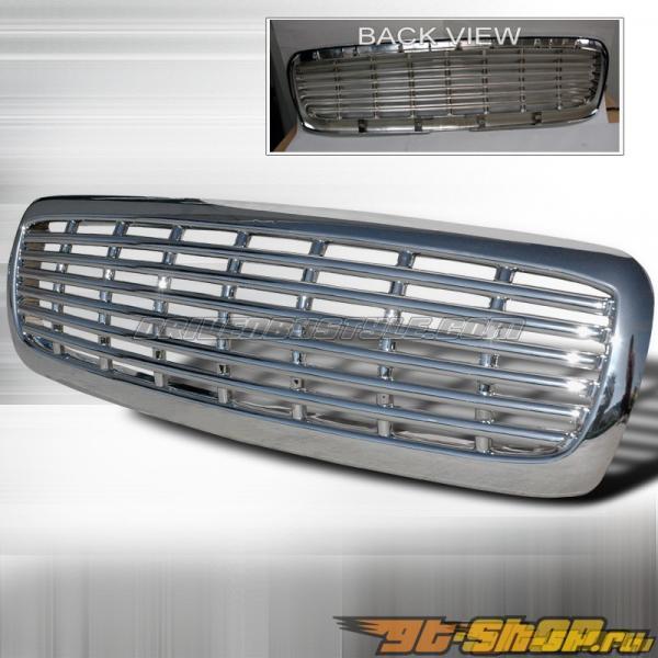 Решётка радиатора для Dodge Dakota 97-04 Хром : Spec-D