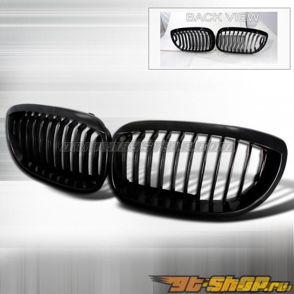 Решётка радиатора для BMW E46 02-05 Чёрный: Spec-D