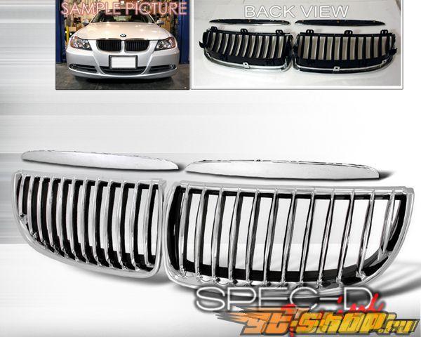 Решётка радиатора SpecD на BMW E90 3-Series седан 05-08