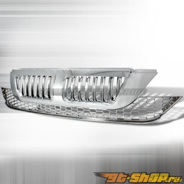 Решётка радиатора для Honda CRV 07-08 Vertical Хром : Spec-D