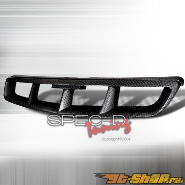 Решётка радиатора на Honda Civic 99-00 Mugen Эмитация карбона : Spec-D