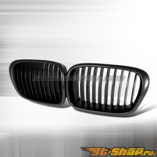 Решётка радиатора для  BMW 96-03 Чёрный: Spec-D