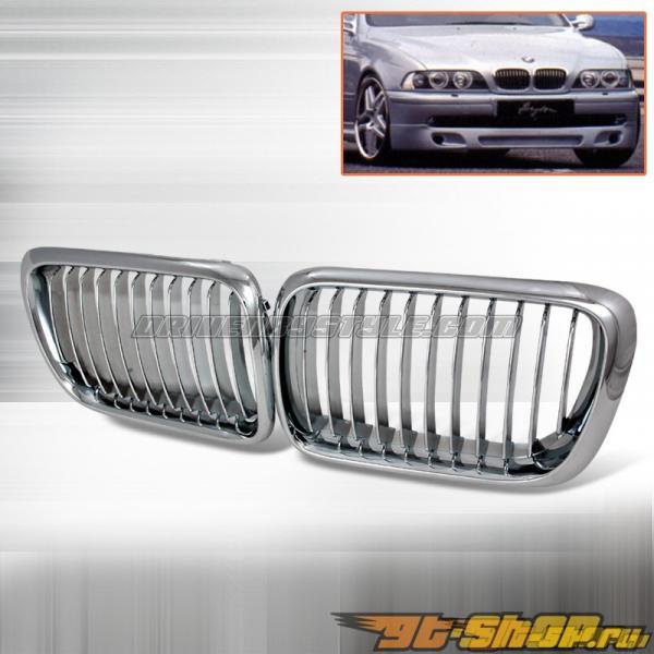 Решётка радиатора для  BMW 96-03 Хром: Spec-D