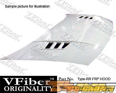 Пластиковый капот для Honda Civic 06-09 Type-RR Стиль