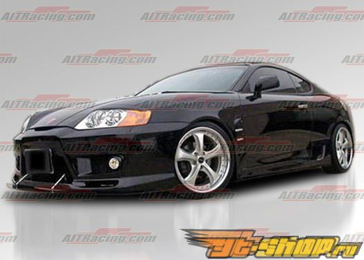 Пороги для Hyundai Tiburon 2003-2006 GT-Spec