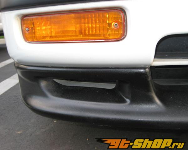 JDP Engineering FRP стандартный Стиль Optional Передняя губа Спойлер Acura Integra DA 90-91
