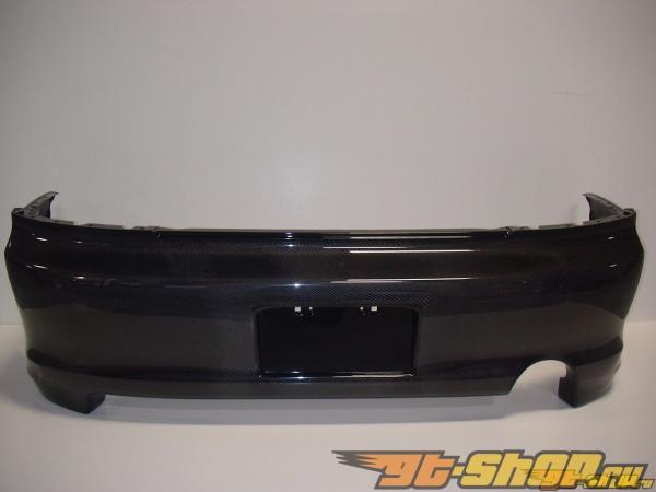 Задний бампер для Mitsubishi EVO 8 Fascia Карбоновый