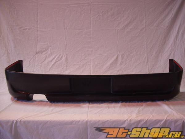 Накладки на задний бампер на Honda CRX 1990-1991