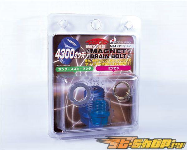 KICS Magnetic Drain Bolt Синий M14x1.50 Honda Mazda Mitsubishi
