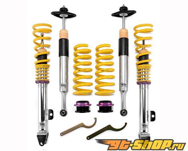 KW Coilover Variant 2 w/ Adjustable Rebound Damping Audi A4, S4 8K/B8 w/o EDC седан FWD & Quattro, All Engines 08-13