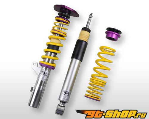 KW Clubsport Coilover комплект 2-Way w/ Top Mounts Volkswagen Golf V All Engines, Incl. DSG 06-09