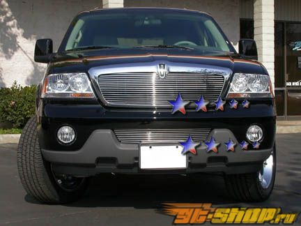 Решётка в передний бампер для Lincoln Aviator 03-06 Billet