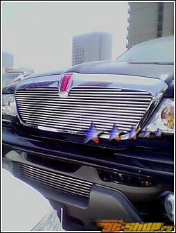 Решётка в передний бампер для Lincoln Navigator 98-02 Billet