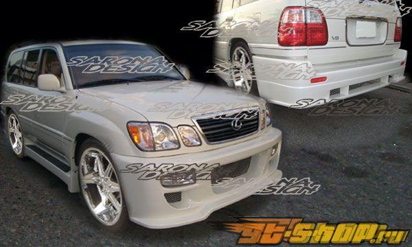 Обвес по кругу на Lexus LX470 1998-2002