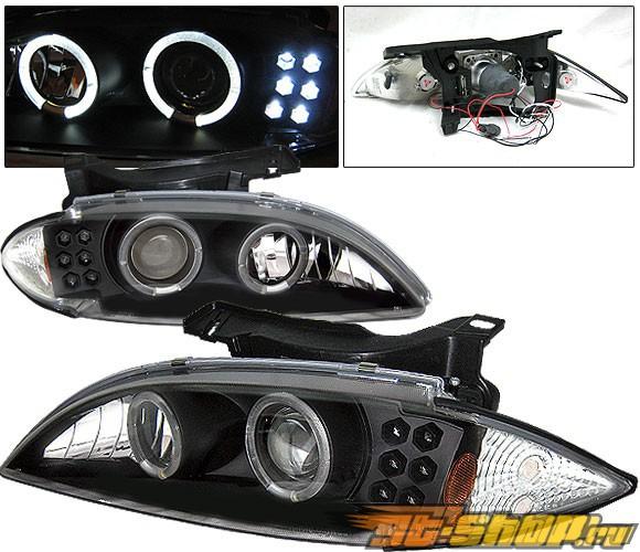 Передняя оптика для Chevy Cavalier 95-99 Projector Чёрный