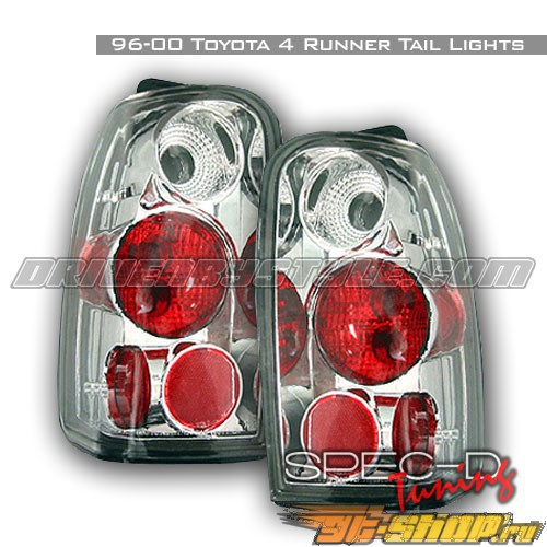 Задние фары на Toyota 4 Runner 96-00 Altezza Хром: Spec-D