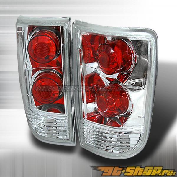 Задняя оптика на Chevrolet Blazer 95-00 Altezza Хром: Spec-D