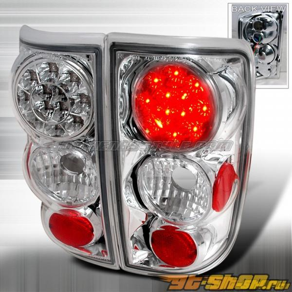 Задние фары для Chevrolet Blazer 95-00 Хром: Spec-D