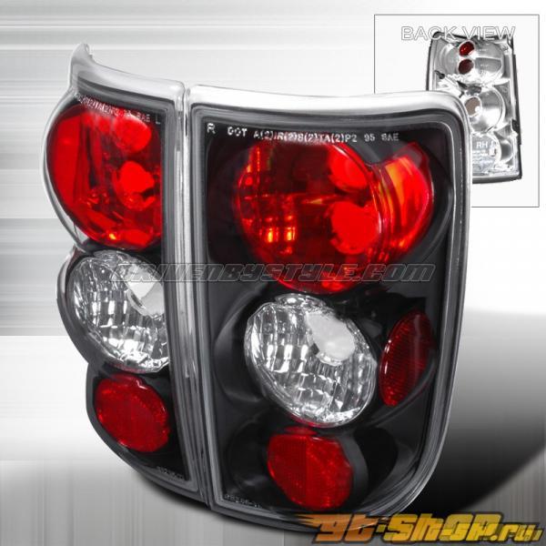 Задние фонари на Chevrolet Blazer 95-02 Altezza Чёрный: Spec-D