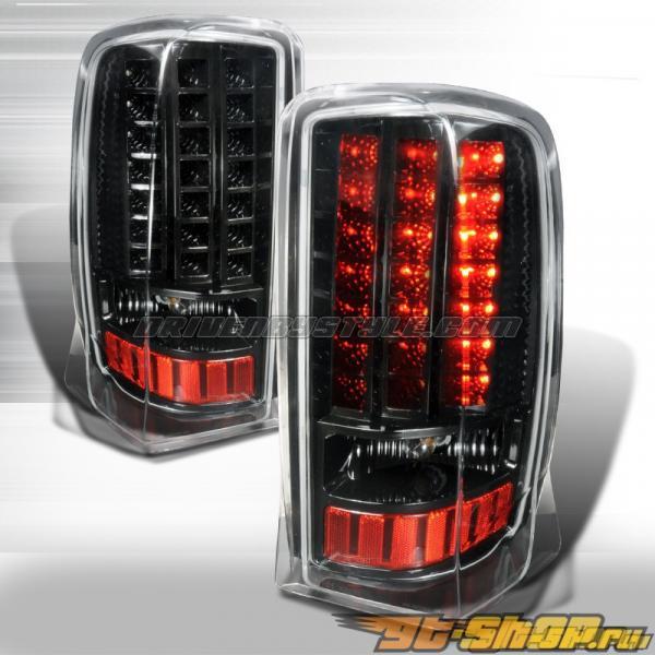 Задняя оптика для Cadillac Escalade 02-06 Чёрный: Spec-D
