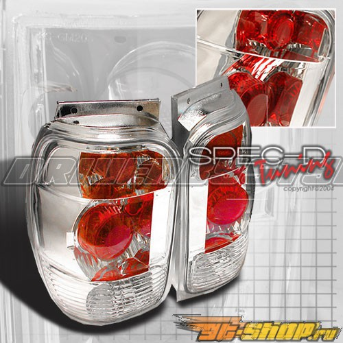 Задняя оптика на Ford Explorer 98-01 Altezza Хром V3 : Spec-D