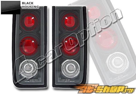 Задние фонари для Hummer H2 01-04 Altezza Чёрный