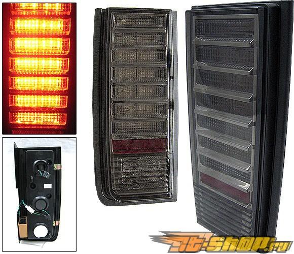 Задние фонари на Hummer H2 02-06 Тёмный