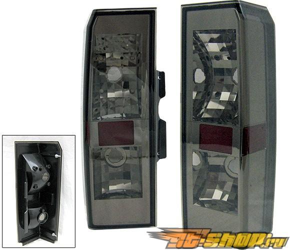 Задние фонари для Hummer H3 05-07 Тёмный красный