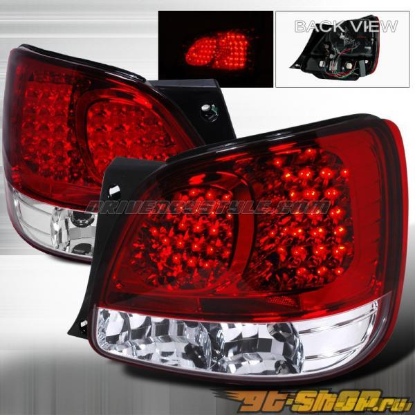 Задние фары для Lexus GS300/400 98-05 Красный V2 : Spec-D