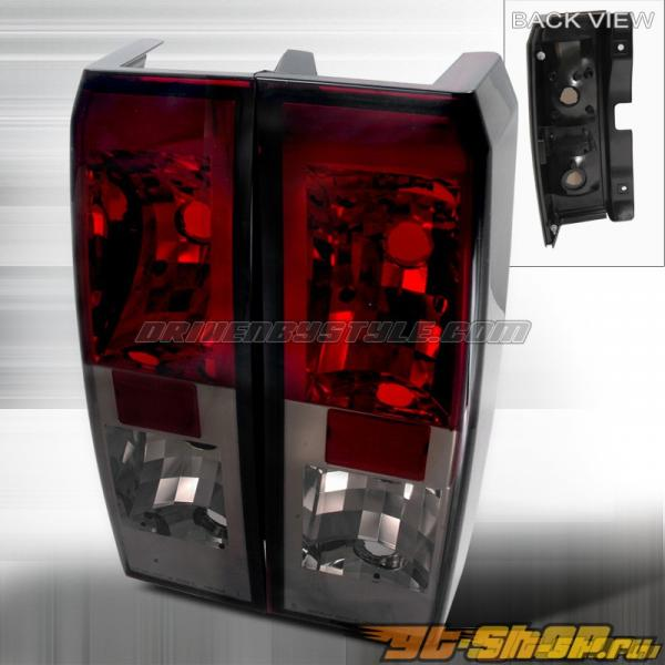 Задние фары для Hummer H3 06-07 Тёмный красный : Spec-D