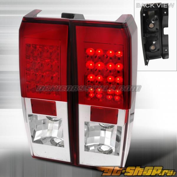 Задние фонари на Hummer H3 06-07 Красный : Spec-D