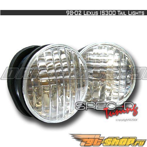 Задние фонари на Lexus IS300 00-03: Spec-D