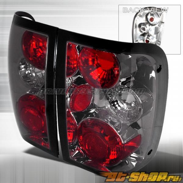 Задние фары для Ford Ranger 01-04 Altezza Тёмный : Spec-D