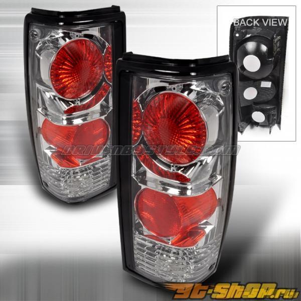 Задняя оптика на Chevrolet S-10 82-93 Altezza Хром: Spec-D