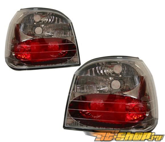 Задние фары для Volkswagen Golf 93-98 3 Altezza Gunmetal