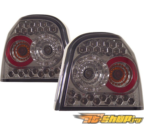 Задняя оптика на Volkswagen Golf 3 93-98 Тёмный