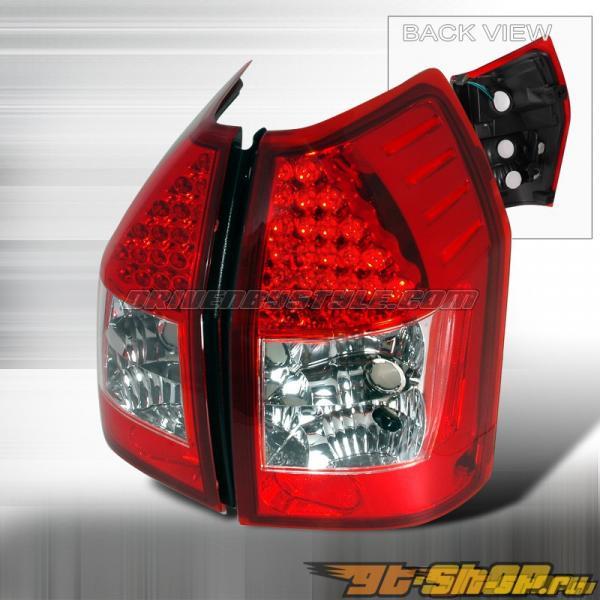 Задняя оптика на Dodge Magnum 05-06 Красный: Spec-D