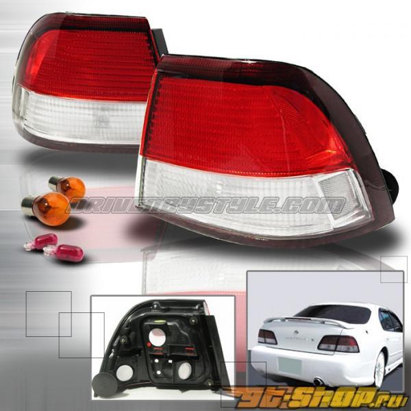 Задние фонари на Nissan Maxima 97-99 Красный: Spec-D