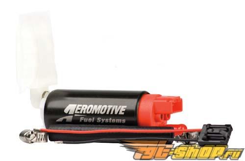 Aeromotive 340 LPH HP Fuel Pump (11141): Offset Inlet (Opposite w/ Outlet) #23911