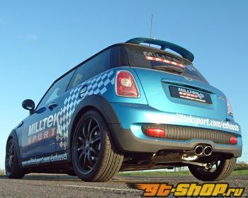 Milltek Twin Oval Tip Выхлоп выхлоп Mini Cooper S 1.6T 07-12