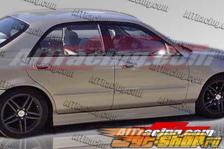 Пороги на Mazda 626 1998-2002 WIZE