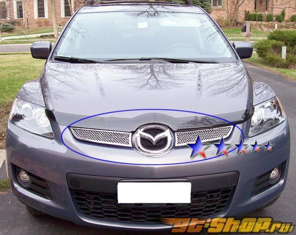 Решётка радиатора на Mazda CX-7 07-08 Upper
