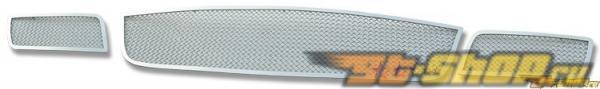 Решётка в передний бампер для Mazda CX-7 07-08 MESH Steel