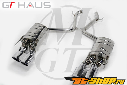Meisterschaft нержавеющий GT Racing выхлоп 4x120x80mm Tips Mercedes-Benz CL550 5.5L V8 07-10