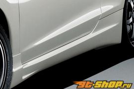 MUGEN Side Step 01 Type E - Brand Painted Honda CR-Z 11-13